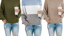 Amazon Reviewers Say You Need to Add This Super Soft and Comfy Sweater to Your Wardrobe ASAP