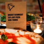 Pizza a la Brexit - with extra referendum