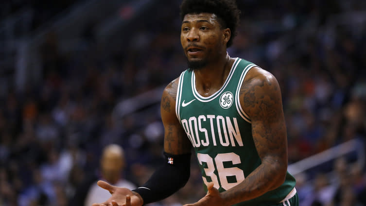 Celtics' Marcus Smart (ankle) probable for Wednesday game vs. Clippers