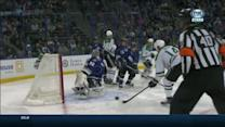 Benn beats Bishop 40 seconds into the game