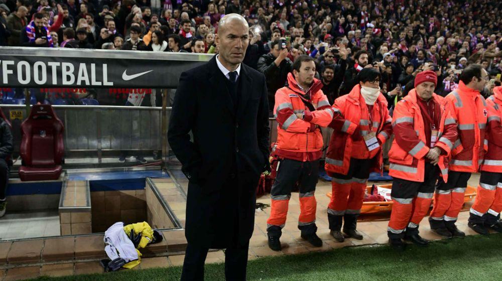"""""""Bombe"""" von Real-Coach Zidane: """"Nicht sicher, dass ich bleibe"""""""