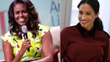 """Michelle Obama's advice to Meghan Markle: """"Take some time"""""""