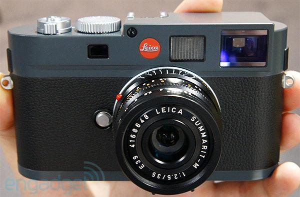 Leica M-E is a $5,450 M9 with new color scheme, minor feature exclusions (hands-on video)