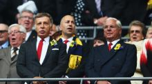 Arsenal chairman Sir Chips Keswick refuses to answer questions on Arsene Wenger's future