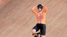 Braspennincx, Walls win track cycling gold at Tokyo Games