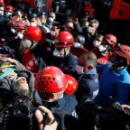 Mother, children rescued from Turkey quake rubble; death toll at 37