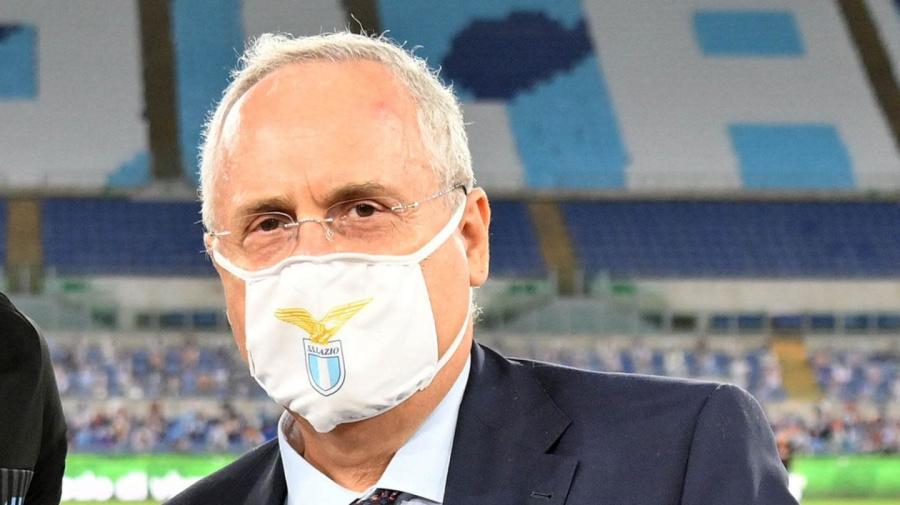 Lazio, vaccinazione anti-Covid: Lotito vuole convincere i calciatori no vax