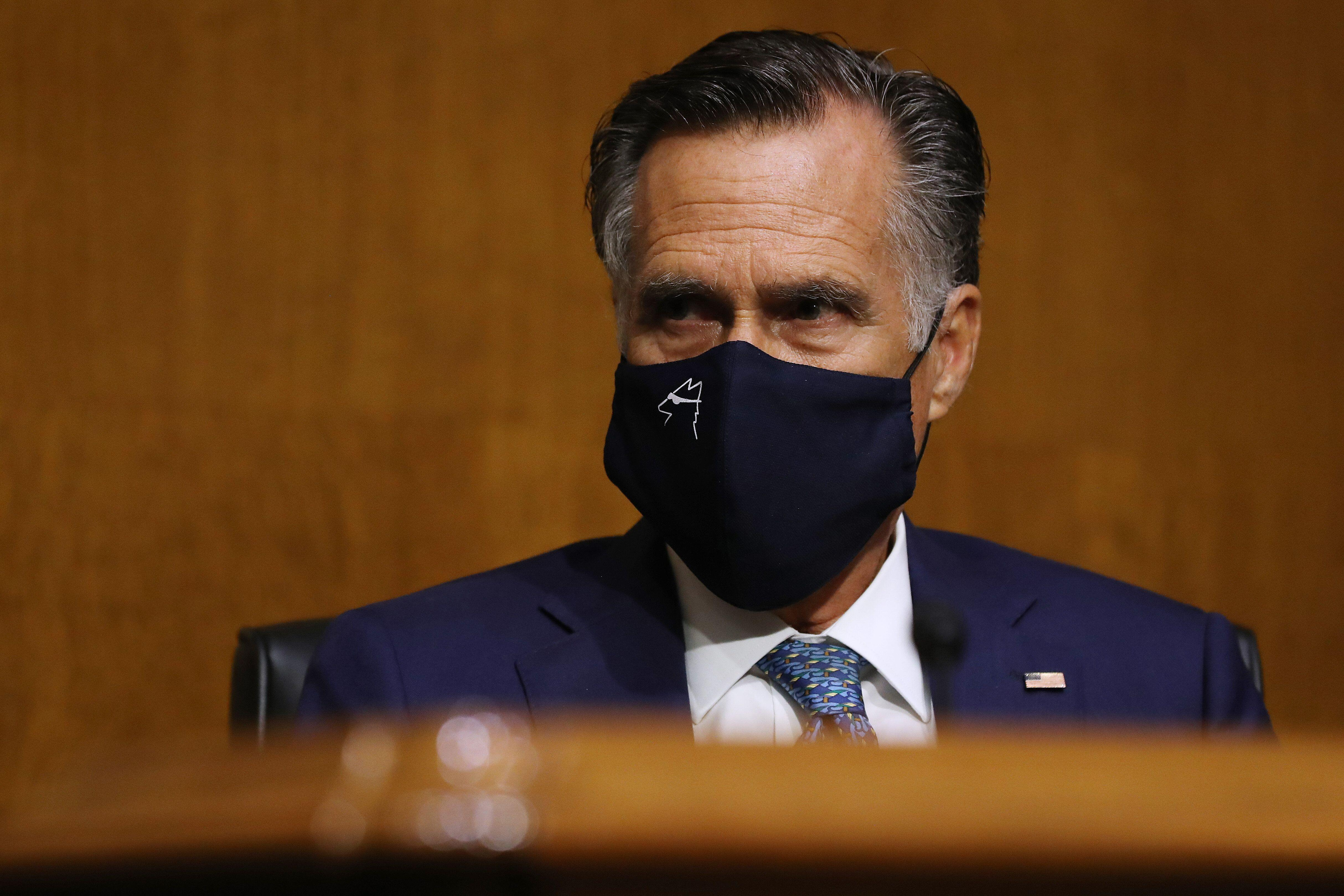 Mitt Romney Doesn't Have A Problem With Mail-In Ballots