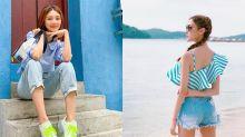 希臘度假風穿搭!直送香港的藍色女裝衣服、泳衣及手袋網購推薦