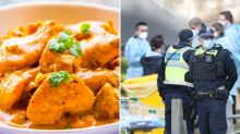Man fined after driving 30km for 'specific butter chicken'