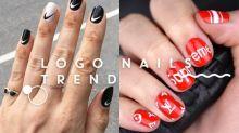 將你最喜愛的潮牌畫在指尖上!酷帥女生專屬的 Logo Nails 造型靈感!