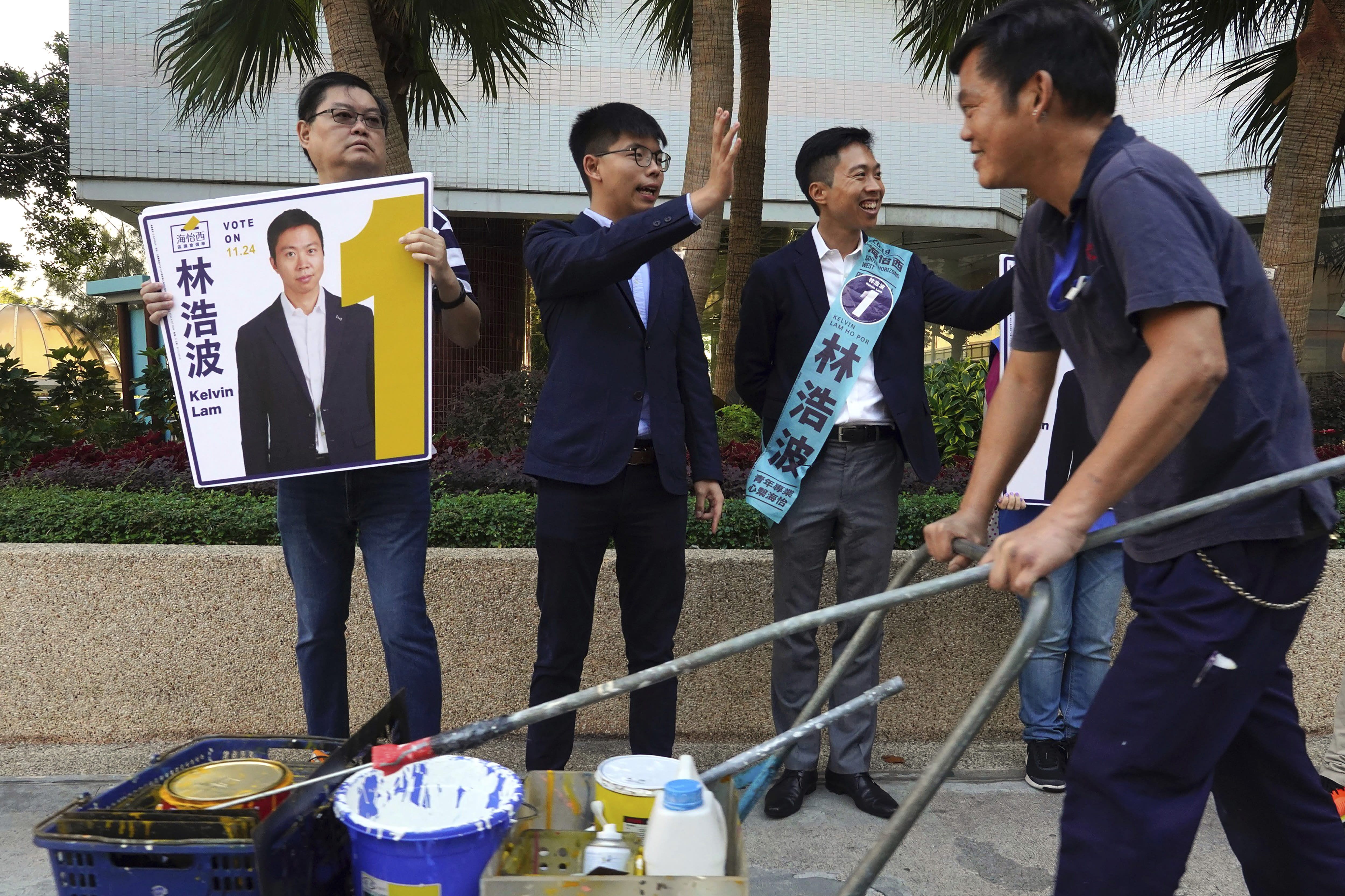 China's Netizens Snub State Media's Interpretation of Hong Kong Election Results