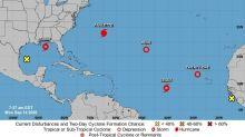Congestión de depresiones, tormentas y huracanes en la cuenca atlántica
