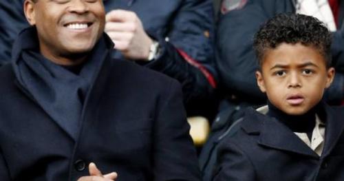 Foot - C.Ligue - Coupe de la Ligue : l'un des fils Kluivert en levée de rideau de la finale ASM - PSG
