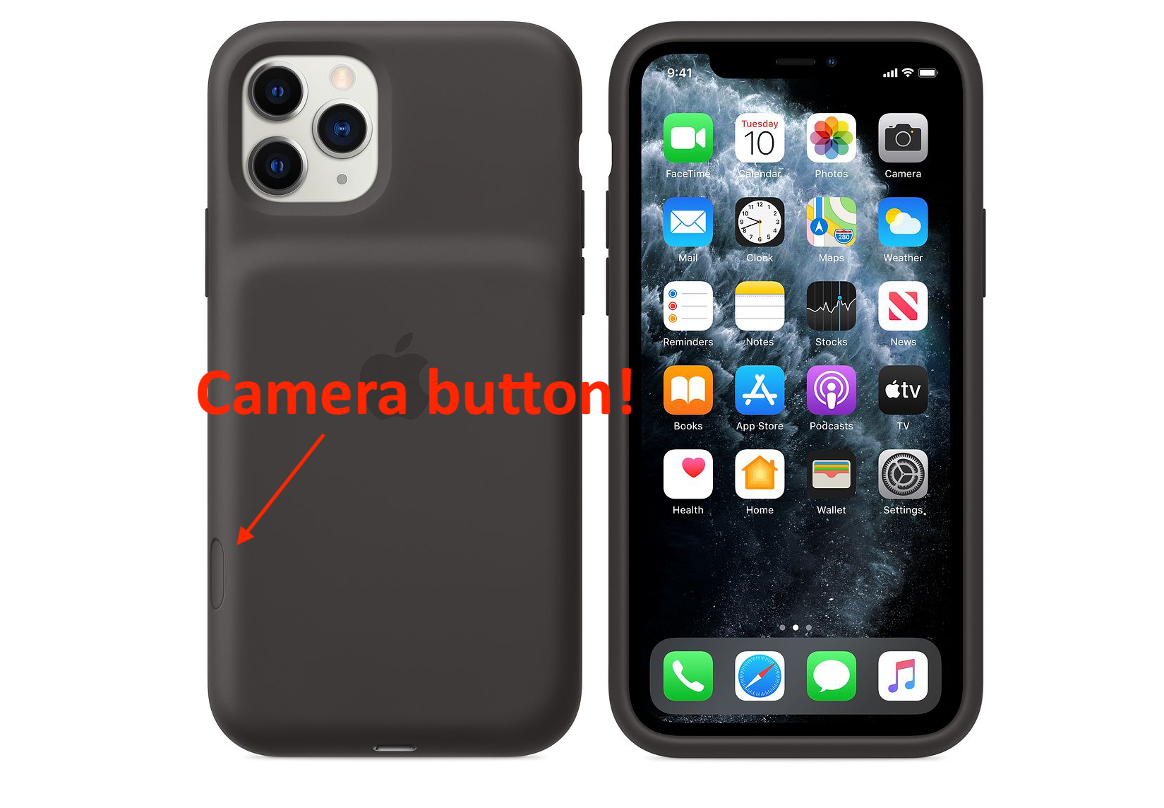 Apple's iPhone 11 Pro battery case sports a new camera button