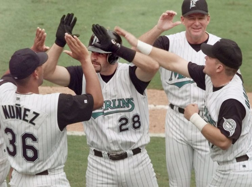 Mike Lowell provides a unique insight into his hitting philosophy on MLB Network. (AP Photo)