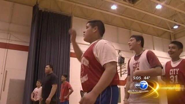 Hammond basketball team back on the court after crash
