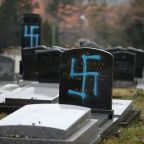 Vandals desecrate 90 Jewish graves in Paris as antisemitism marches about to take place