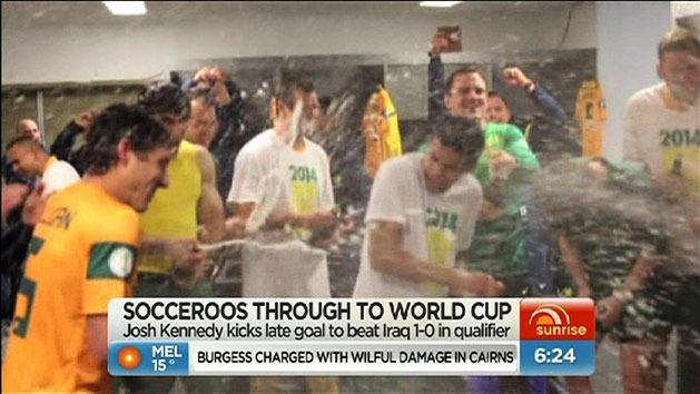 Socceroos book World Cup place