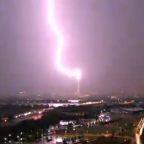Lightning injures 2 National Guardsmen during protests in D.C.
