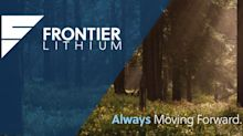 A message from Frontier Lithium's CEO