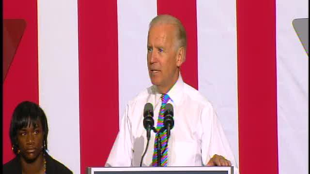 Vice President Joe Biden speaks in Detroit, part 3