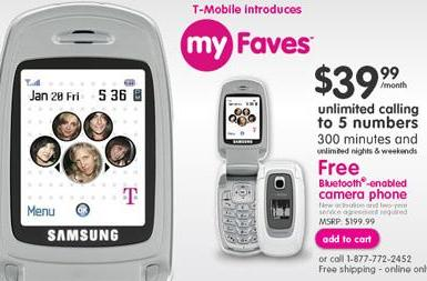 """T-Mobile launches """"myFaves"""" service, new branding"""