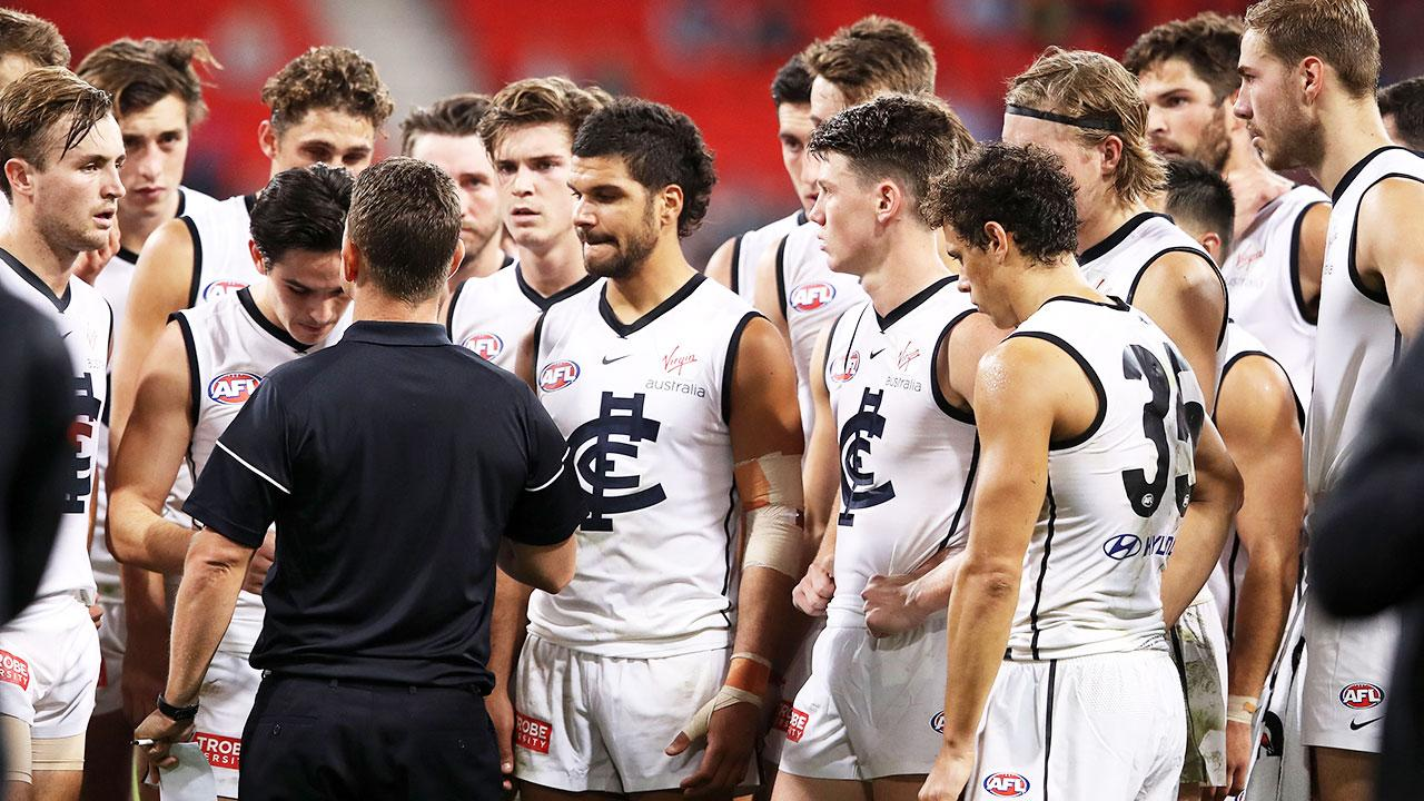 'You can't shy on culture': Carlton great's stinging shot at club