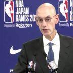 NBA's Silver says Hong Kong tweet furor already hit league's bottom line