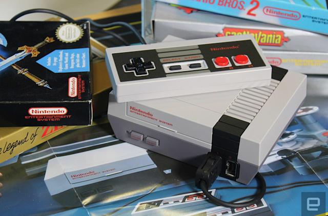 Nintendo's NES Classic outsold Xbox One and PS4 in June