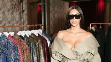 Kim Kardashian returns to social media with a series of raunchy photos
