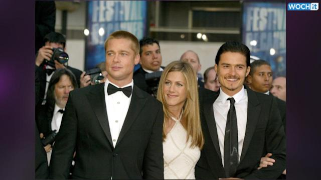 Brad Pitt And Orlando Bloom Together Again At Last