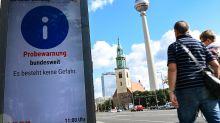Alarm zu spät gemeldet: Warntag-Panne: Bayern hielt sich nicht an Absprache