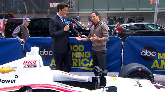 3-Time Indy 500 Champ Readies for 2013 Race