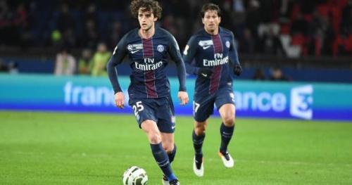 Foot - L1 - PSG - Le PSG avec le trio Verratti-Rabiot-Matuidi face à Bastia