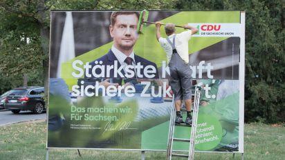 ARD-Wahltrend: CDU in Sachsen mit 30 Prozent klar vor AfD