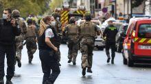 """Attaque à Paris : dans l'ancien quartier de """"Charlie"""", de douloureux souvenirs"""