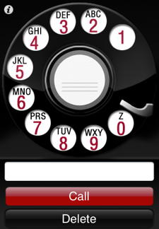 Dial your iPhone with Bakelite