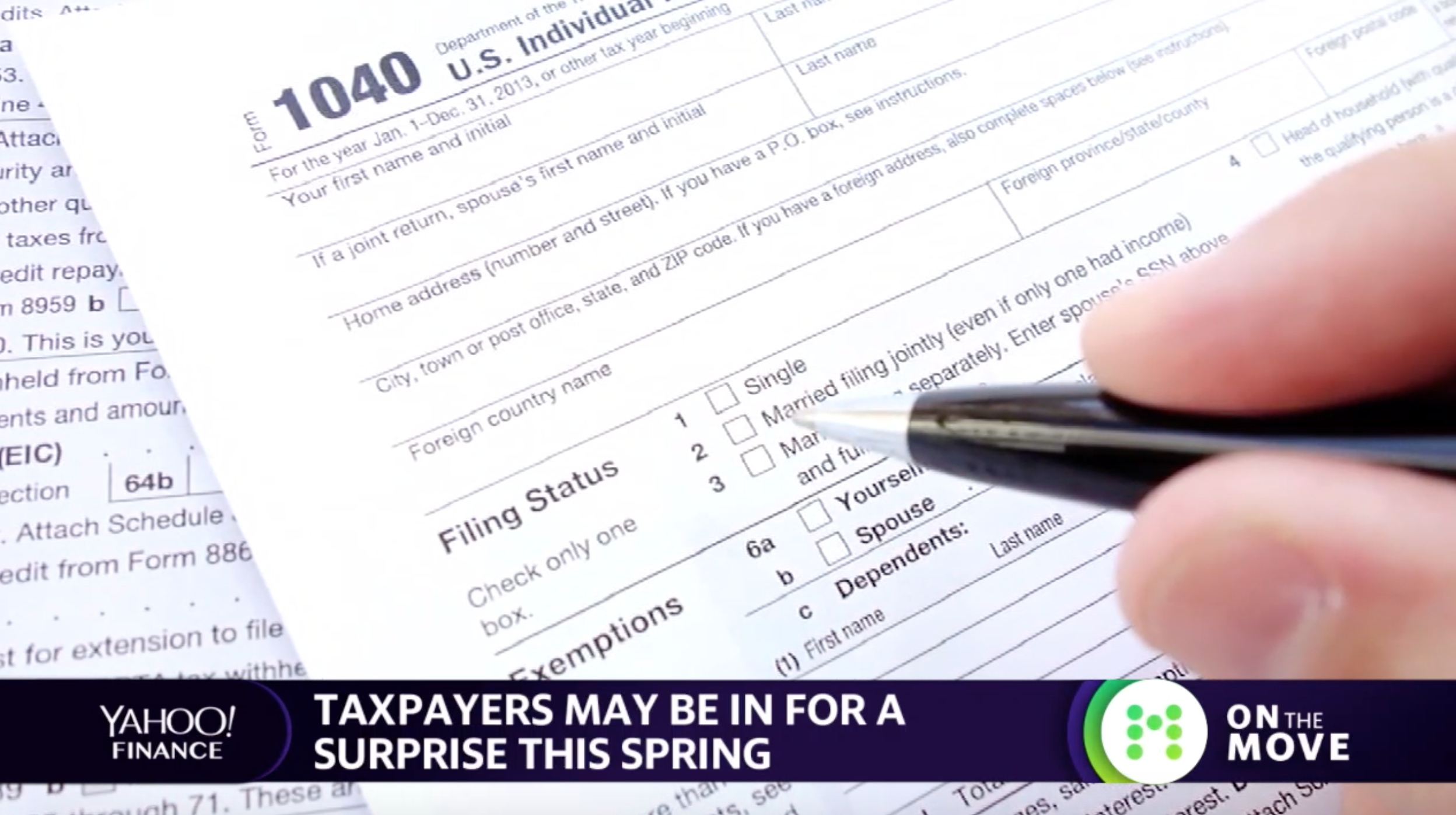 Get ready for an unhappy tax surprise