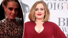 Adele unrecognisable in slinky dress after 20kg weight loss