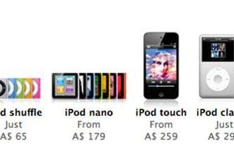 Good news for Australians: Apple drops iPod prices