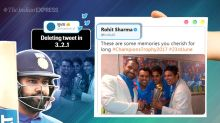 Rohit Sharma's hashtag blunder triggers hilarious reactions online