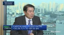 CapitaLand says demand for housing in China remains stron...