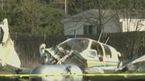 Small Plane Hits North Texas Home