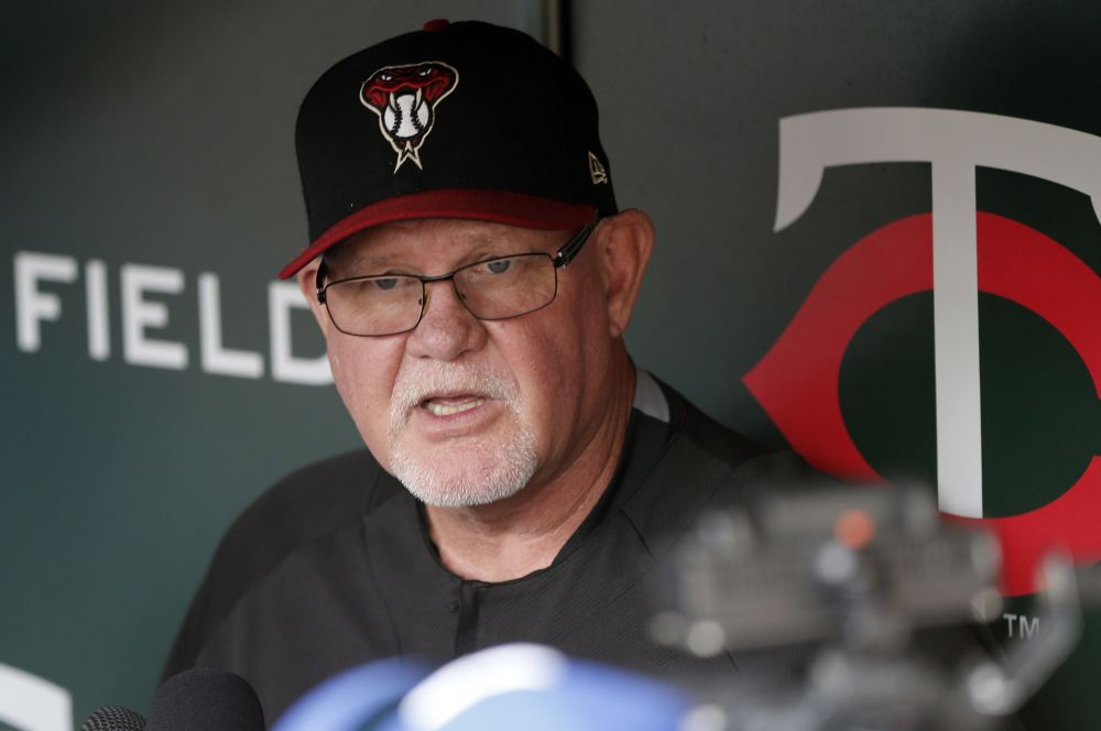 Former Twins manager and current Diamondbacks bench coach Ron Gardenhire figures to be favorite for the Red Sox managerial opening. (AP)