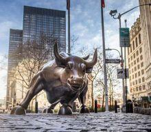 Dow Jones Jumps 250 Points On Coronavirus Stimulus Hopes; Shopify, Tesla Tumble, While IBM Plunges On Earnings