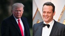 'Fox & Friends' co-host warns 'they might as well just split the country right in half' after Vince Vaughn-Donald Trump exchange