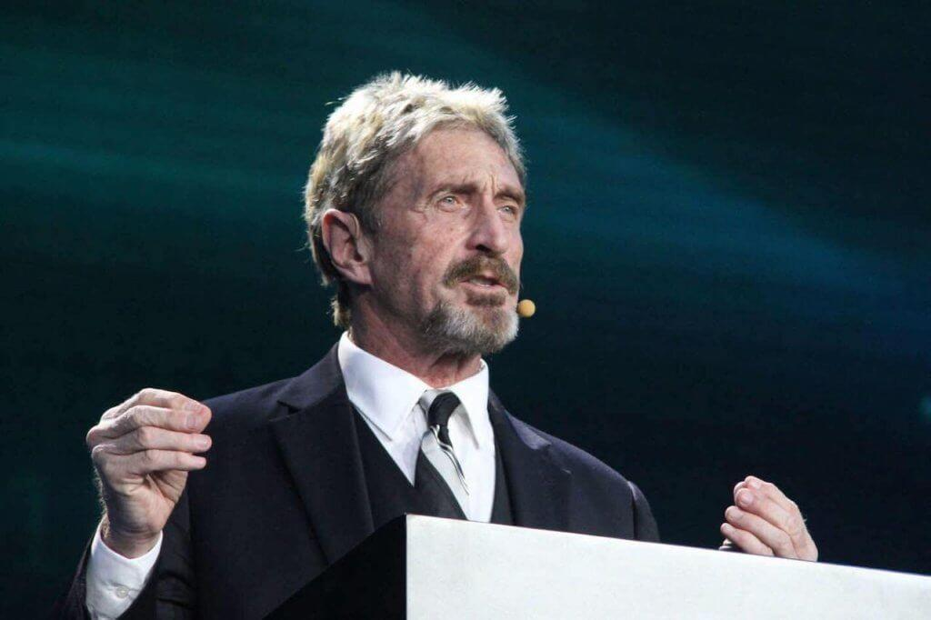 John McAfee slams 'stone age' Peter Brandt over altcoin comments
