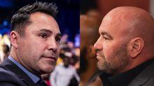 Dana White escalates feud with Oscar De La Hoya: 'He's a liar and a phony'