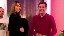Alex Jones announces she's pregnant live on 'The One Show'
